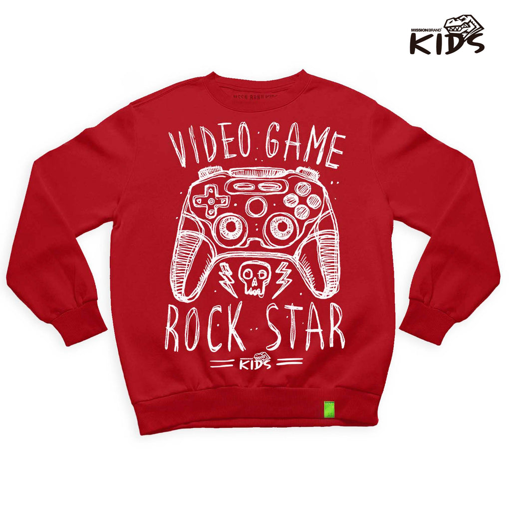 "Sudadera Kids ""Video Rockstar"""