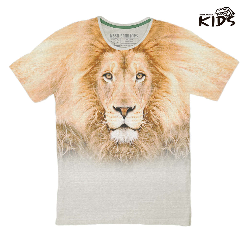 "Playeras Kids - Playera Kids ""Leon Full"""