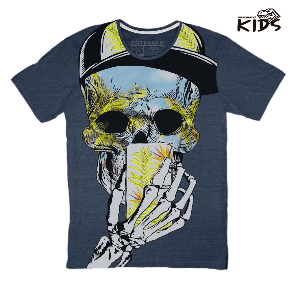 "Playeras Kids - Playera Kids ""Tropical Skull"""