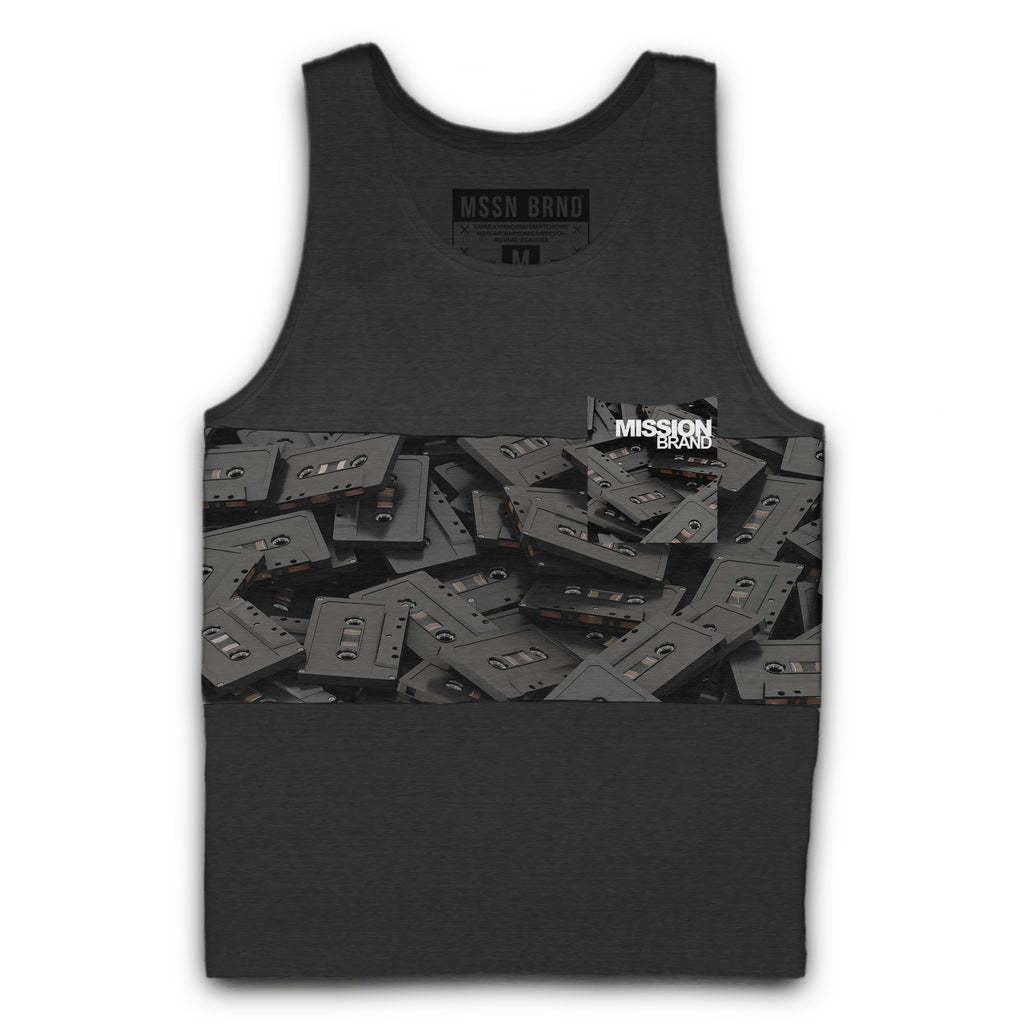 "TANK TOP ""CASSETTES"" - Mission Brand®"