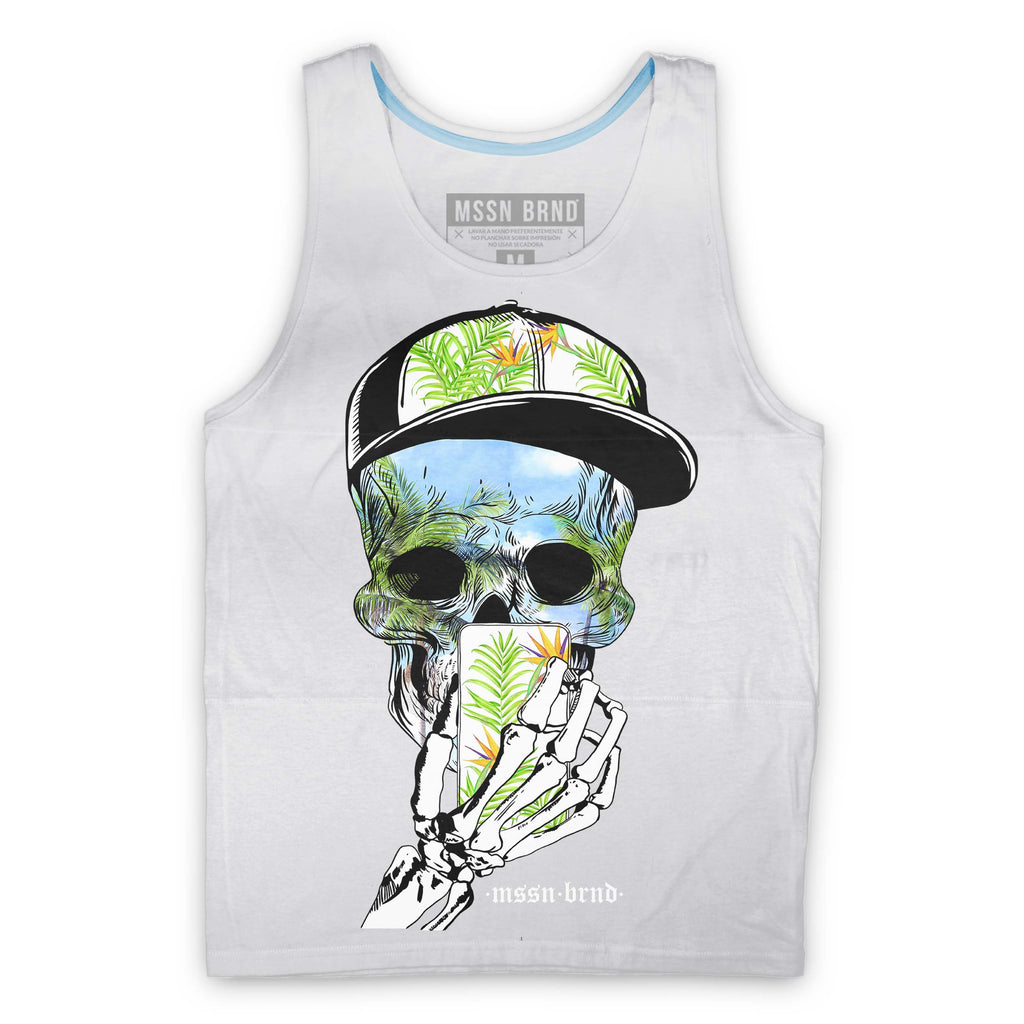 "Tank Top - Tank Top ""Tropical Skull"""