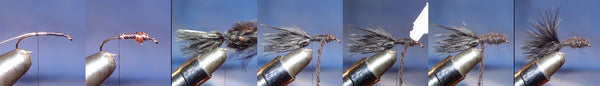 Fly tying sequence