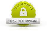 Full Security 100% PCI Compliant