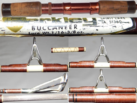 Vintage-Ultralight 5-1/2' Spinning Rod 7544 - Berkley Buccaneer B21 - 4 oz.