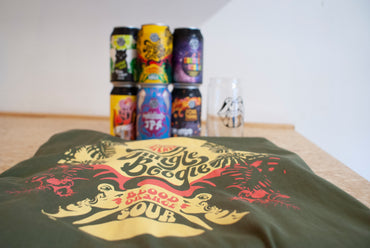 6 Mixed Beers - a Glass - and a T-Shirt Pack!