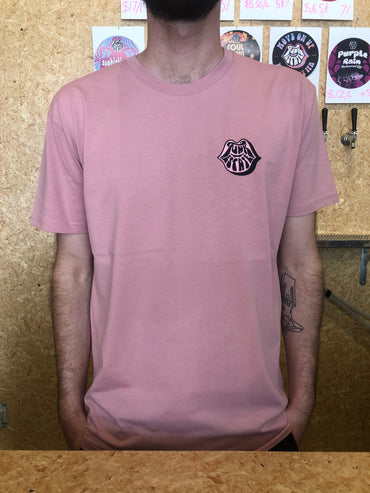 Embroidered Logo Rose T-Shirt