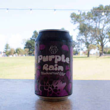 Purple Rain Blackcurrant Cider 330ml Single