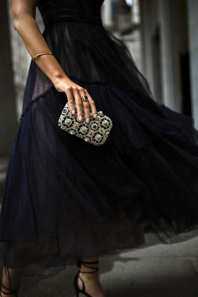 DAY 19: CHARITY GALA Mary Orton Minza Khan Clutch Bano