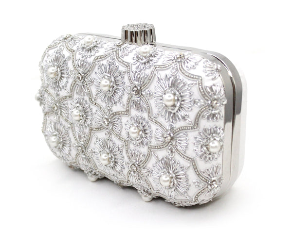 BANO Pearl - handmade artisan clutches by MINZA
