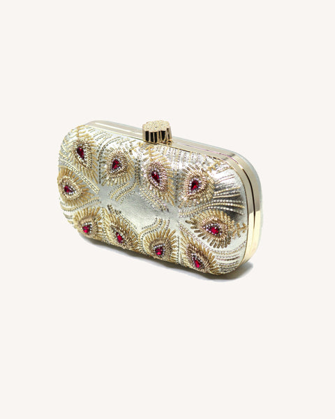 ZARA Ruby - handmade artisan clutches by MINZA