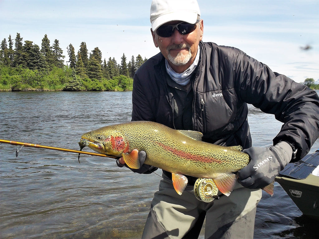Best Alaska Fishing Trip - Fishing Report from ATA Lodge on the Wild Alagnak River - June 18 - July 9, 2017