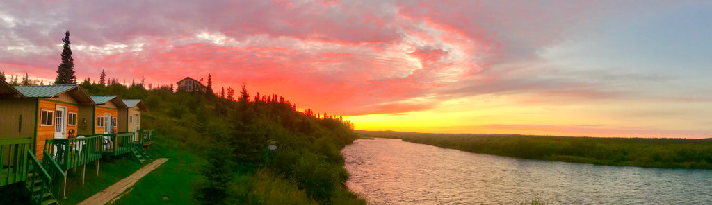 The Sun Sets on another great season at Bristol Bay, Alaska's ATA Lodge on the Alagnak River - End of Season Fishing Report for 2018