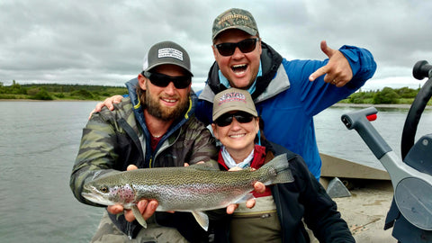 Alaska Fly Fishing - Rainbow