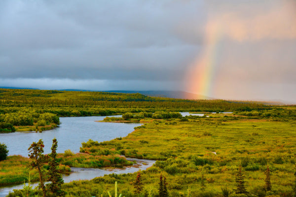 Dream Trip in Alaskan Paradise! Rainbow