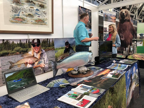 Alaska Fly Fishing Trips Planning at London's Fly Fishing Fair 2018