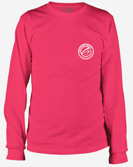 Southern Beau Grand Isle Long Sleeve T-Shirt Heliconia