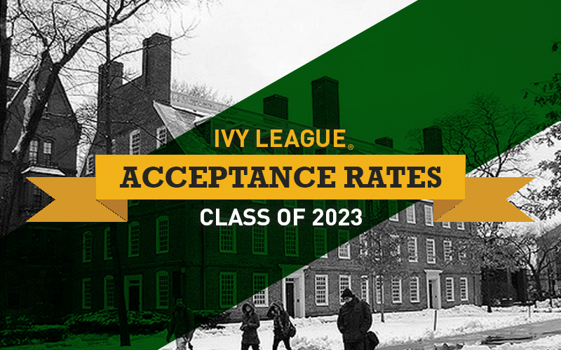 Ivy League Acceptance Rates for Class of 2023 [INFOGRAPHIC]