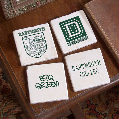 Dartmouth Logos 4 Coaster Set
