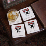 Harvard Business School 4 Coaster Set