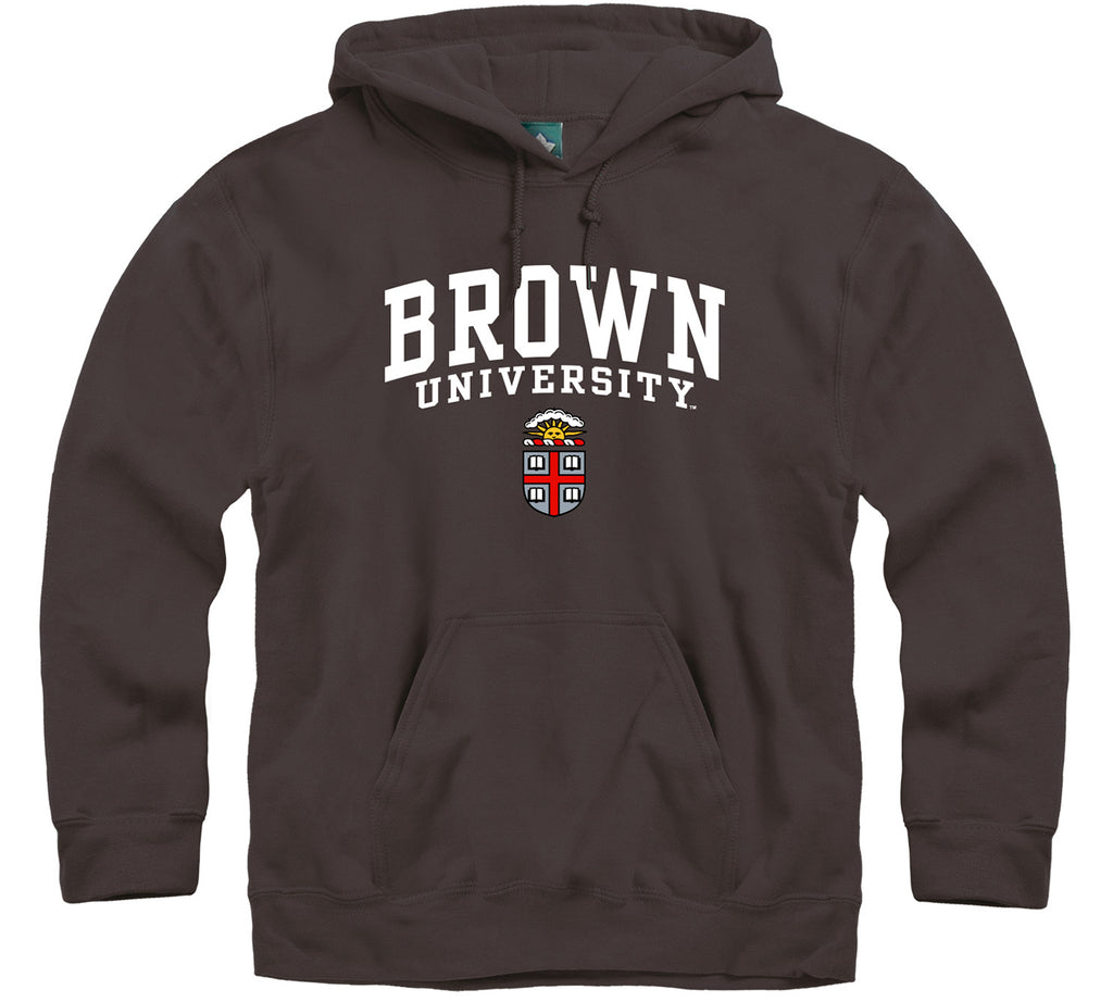 Brown Heritage Hooded Sweatshirt (Brown)