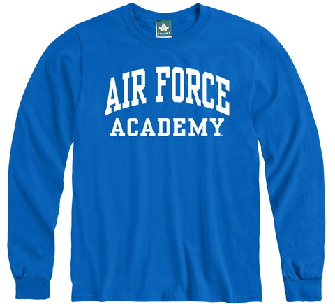 Air Force Classic Long Sleeve T-Shirt (Royal Blue)