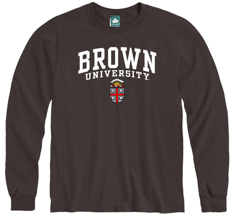 Brown Heritage Long Sleeve T-Shirt (Brown)