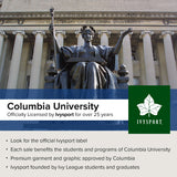columbia university long sleeve t-shirt