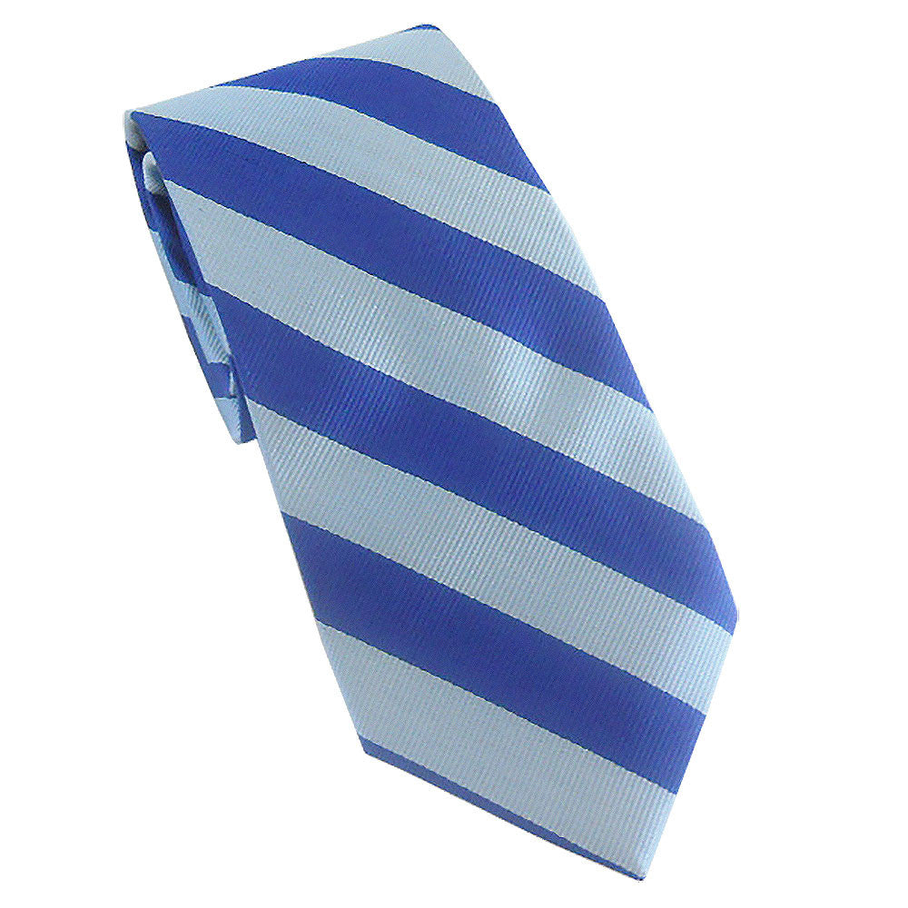 Columbia - Blue Stripe Tie (Silk)