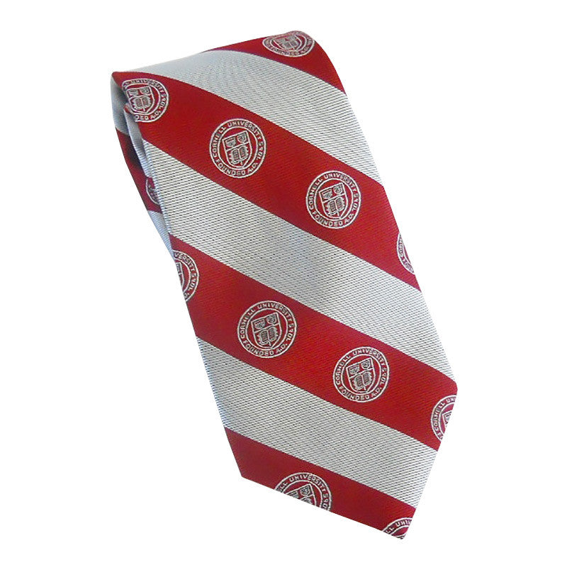 Cornell Seal Tie (Red)