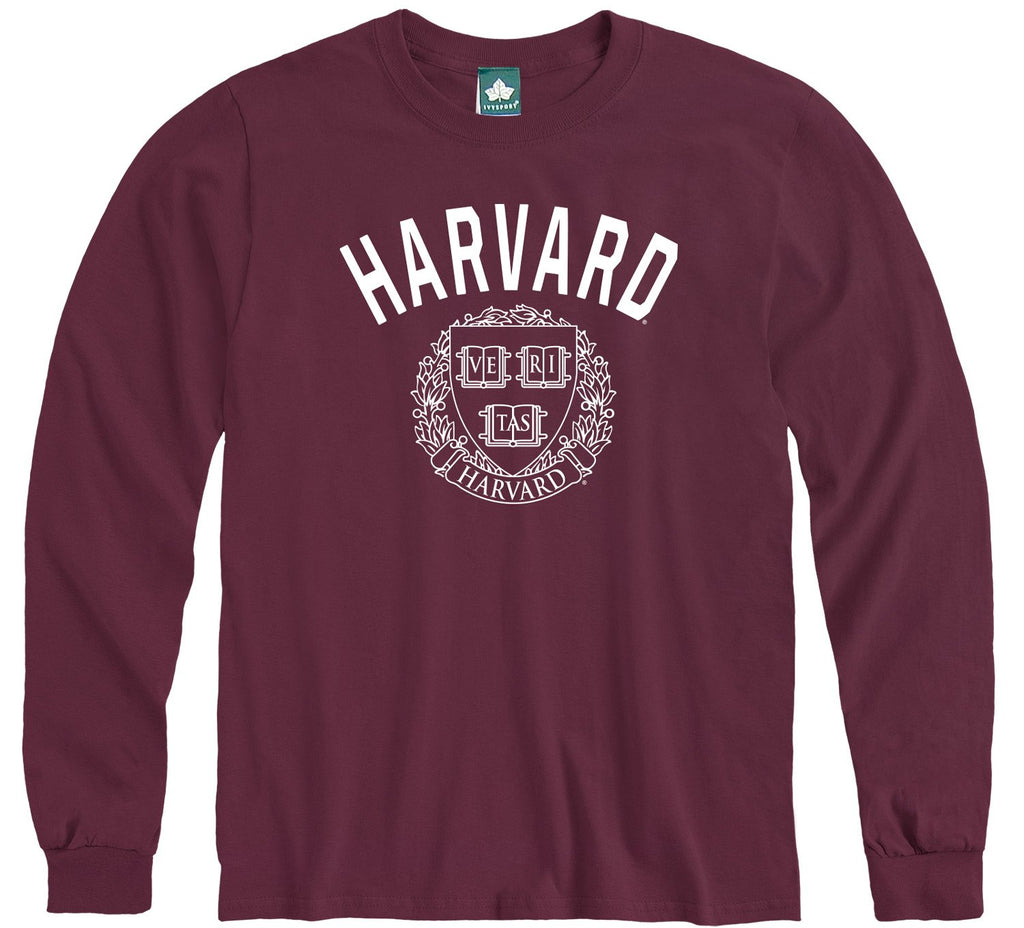 harvard university long sleeve t-shirt