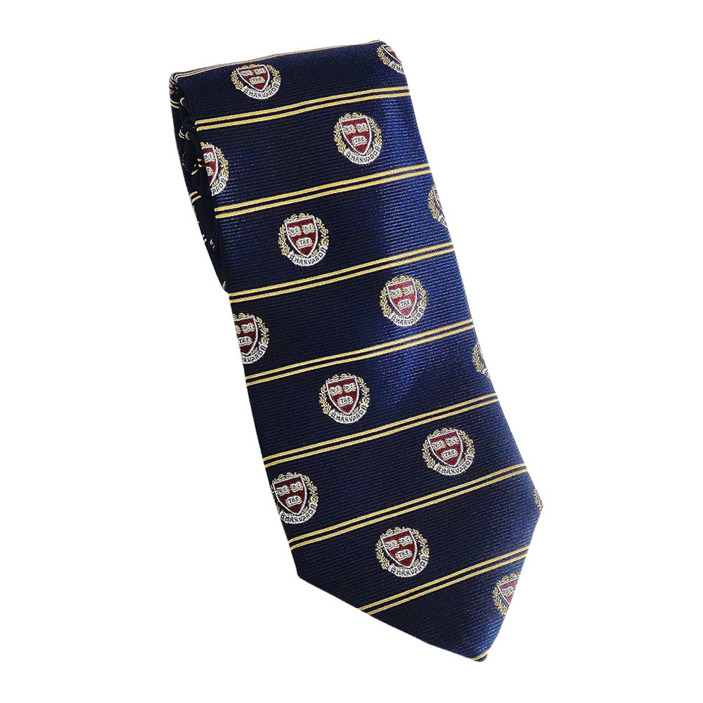 Harvard Veritas Tie (Silk) Navy