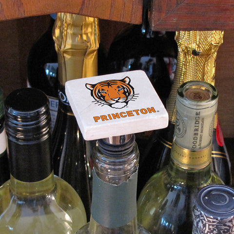 Princeton Botticino Marble Wine Bottle Topper