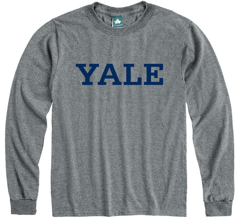 yale university long sleeve t-shirt