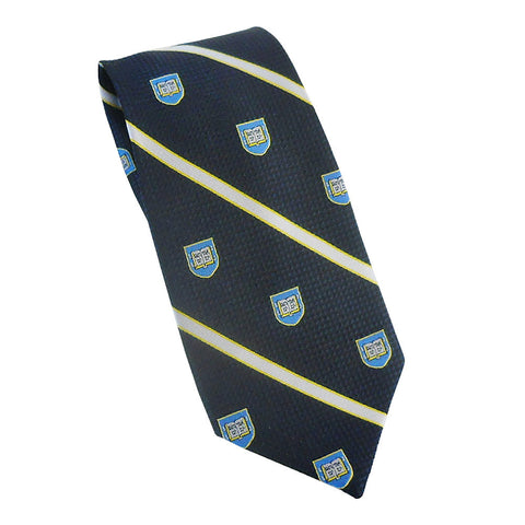 Yale - Shield Stripe Tie (Silk)