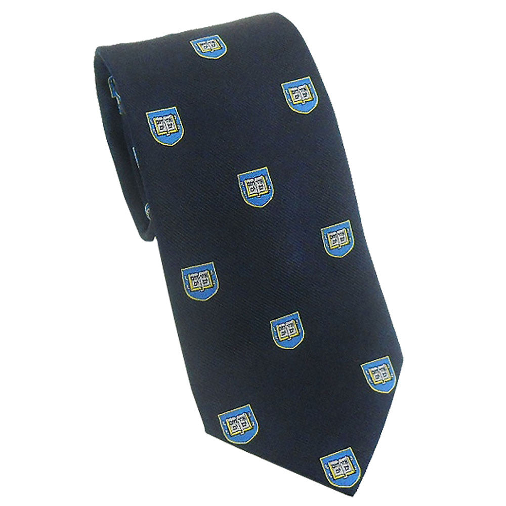 Yale - Shield Tie (Silk)