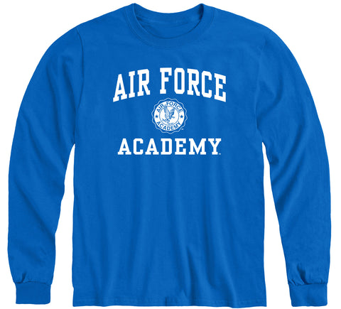 Air Force Heritage Long Sleeve T-Shirt (Royal Blue)