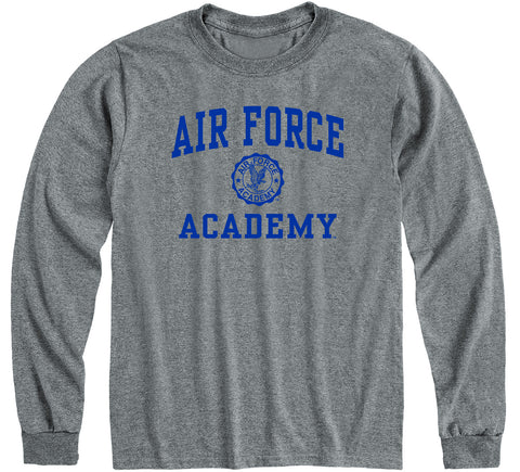 Air Force Heritage Long Sleeve T-Shirt (Charcoal Grey)