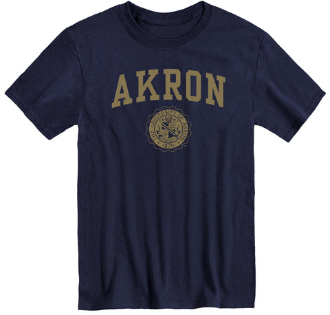 University of Akron Heritage T-Shirt (Navy)