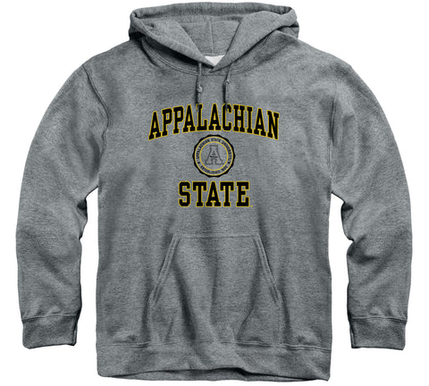 Appalachian State University Heritage Hooded Sweatshirt (Charcoal Grey)