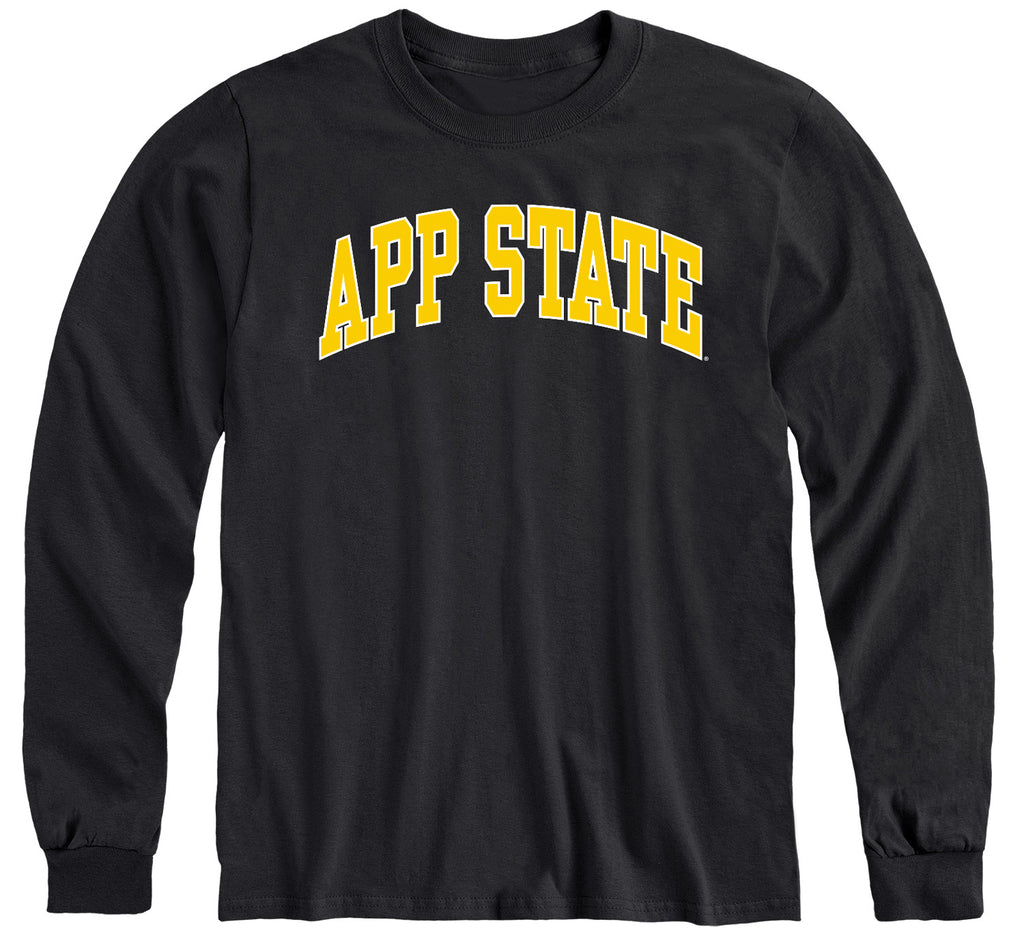 Appalachian State University Classic Long Sleeve T-Shirt (Black)