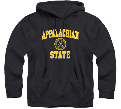 Appalachian State University Heritage Hooded Sweatshirt (Black)