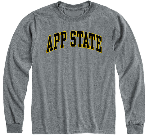 Appalachian State University Classic Long Sleeve T-Shirt (Charcoal Grey)