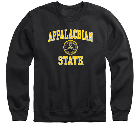 Appalachian State University Heritage Sweatshirt (Black)