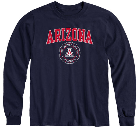 University of Arizona Heritage Long Sleeve T-Shirt (Navy)
