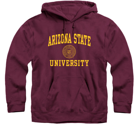 Arizona State University Heritage Hooded Sweatshirt (Maroon)