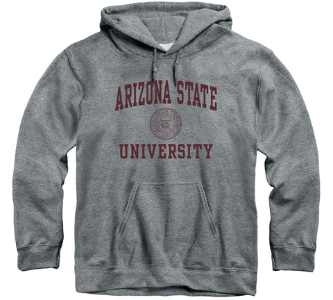 Arizona State University Heritage Hooded Sweatshirt (Charcoal Grey)