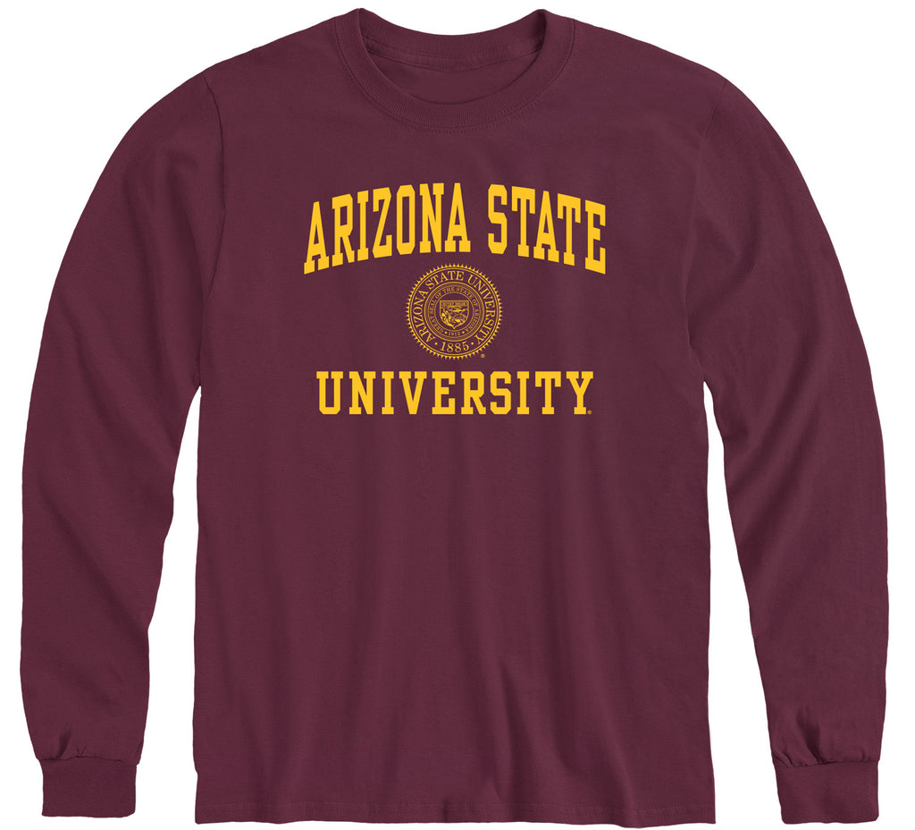 Arizona State University Heritage Long Sleeve T-Shirt (Maroon)