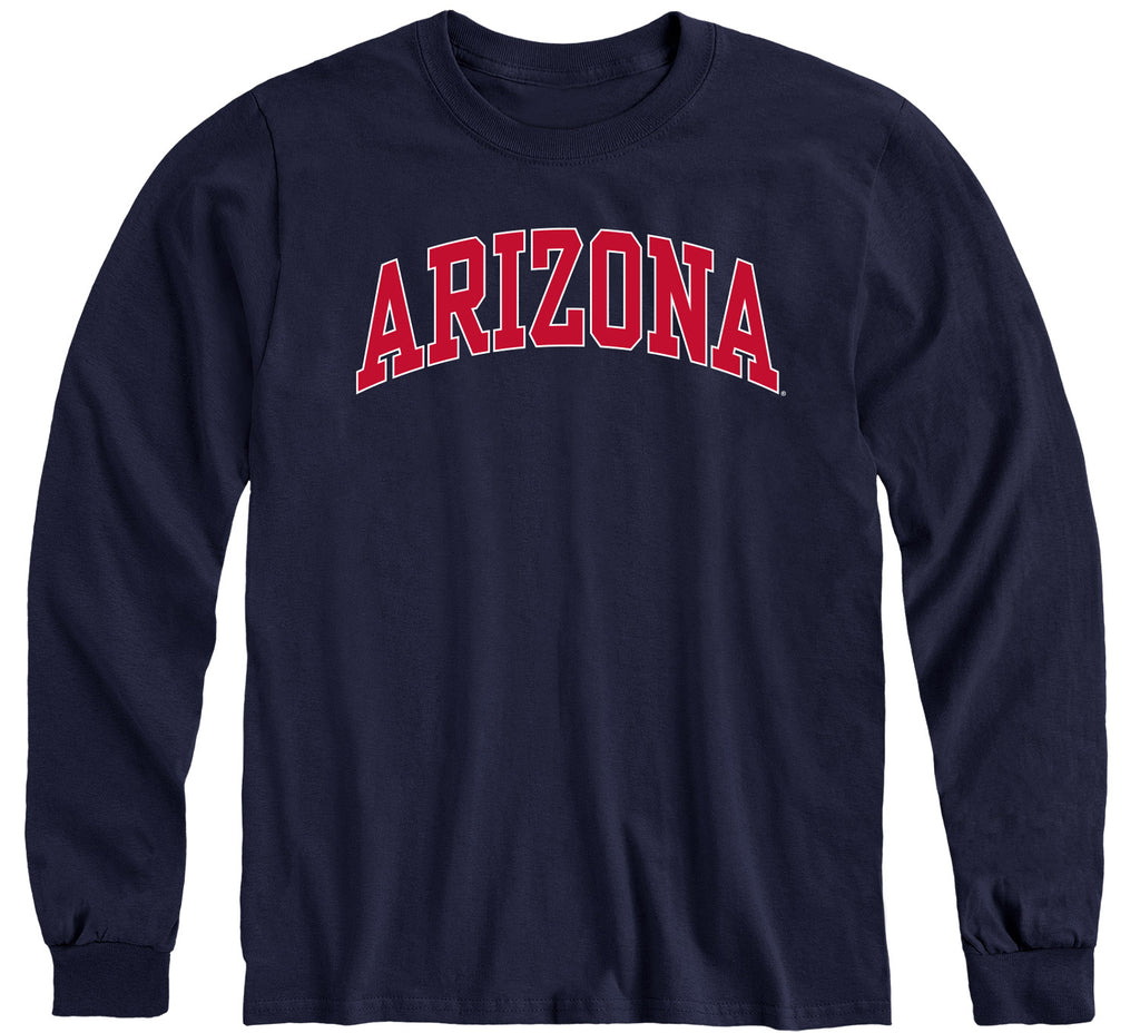 University of Arizona Classic Long Sleeve T-Shirt (Navy)