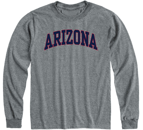 University of Arizona Classic Long Sleeve T-Shirt (Charcoal Grey)