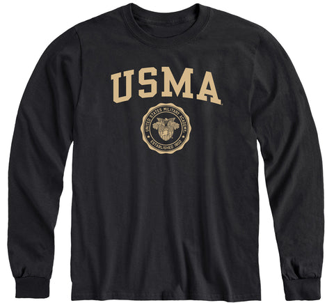 Army Heritage Long Sleeve T-Shirt (Black)